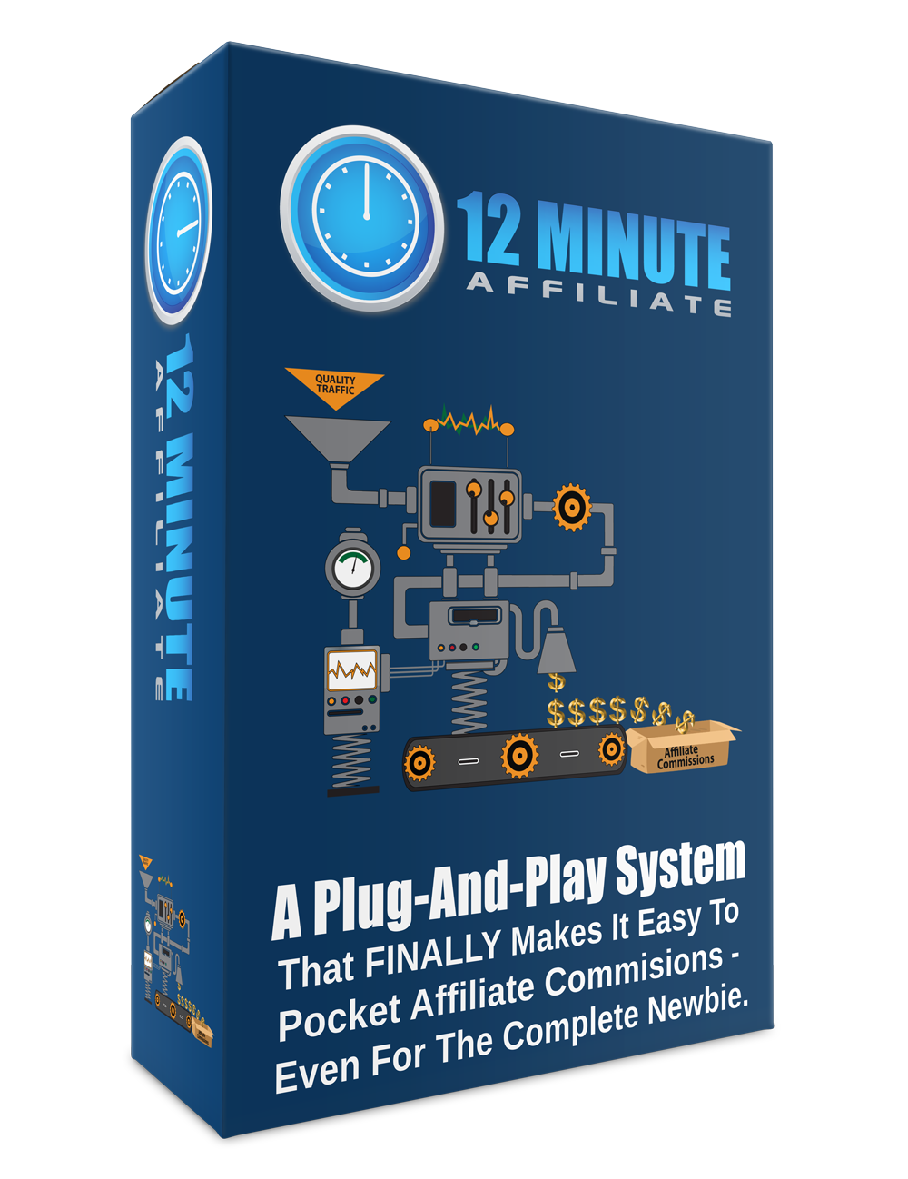 Make automated affiliate income with just 12 minutes per day
